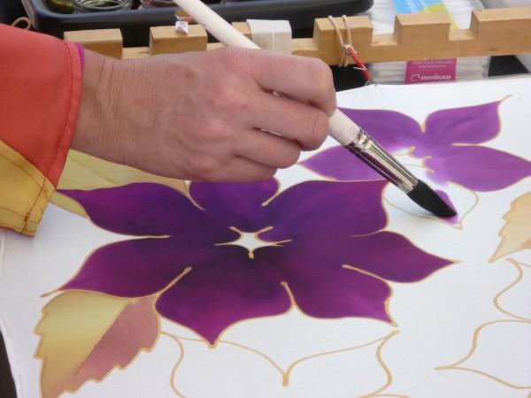 Kurs: Seidenmalerei