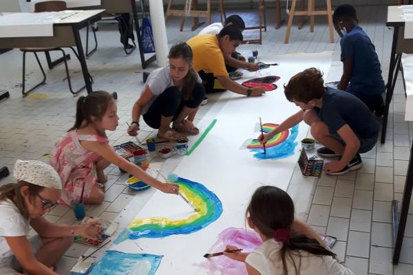 Workshop 1: freie Malerei für Jung und Alt